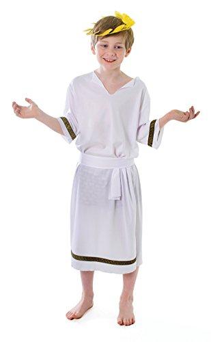 Bristol Novelty CC029 Griechischer Junge Kostüm für Kinder