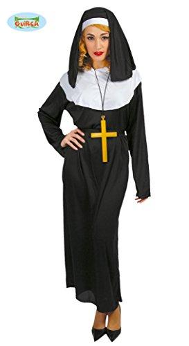 Farfouil in Fête Kostüm Nonne für Damen ()