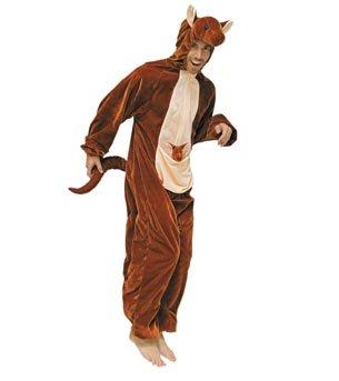 (Wilbers Federbein Herren EU 46/UK und US 36Känguru Kostüm)