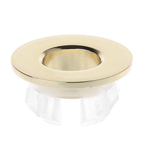 FXCO Le robinet de cuisine d'ABS de double fonction retirent le robinet de tuyauterie convenable convenable de pièces (or)