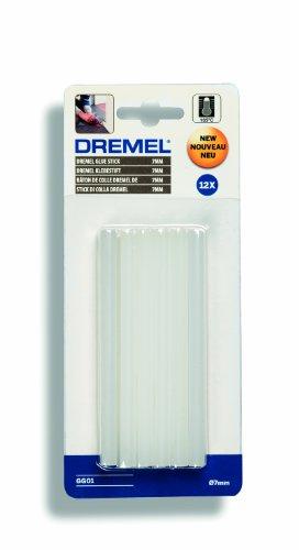 ^ Dremel GG01, Bastoncini di colla stick multiuso, per alte temperature, ø 7 mm, Bianco confronta il prezzo