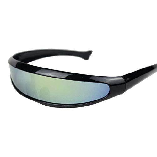 Männer Damen Platz Brillen Rosennie Mode Klassische Gläser Damen Vintage gespiegelten Sonnenbrillen Outdoor Sports Unisex Brille UV400 100% UV-Schutz Runde Goggles Flieger Gläser (C)