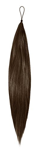 AMERICAN DREAM Hair Addition - Farbe HA1B-4 Ombre naturschwarz - kastanienbraun - 18 inch / 46 cm Länge - Thermofibre, 1er Pack (1 x 194 g)