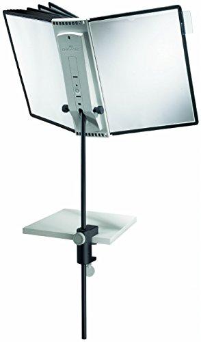 Durable Sherpa 10-teilig, Wand Display System, sortiert Farbe Grenzen (554100) Klemmsystem für Schreibtische 10-Panel Assorted multi