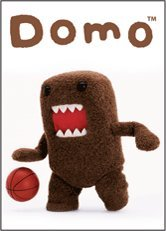 "Basketball-superstar (Domo-Kun, Domo, 3.5"" X 2.5"", Officially Licensed - MAGNET - Basketball Superstar Sports Favorite Cartoon Magnet)"