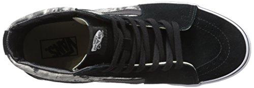 Vans U Sk8-hi Guate Weave, Unisex-Erwachsene Sneakers Schwarz (moon, black/tr)