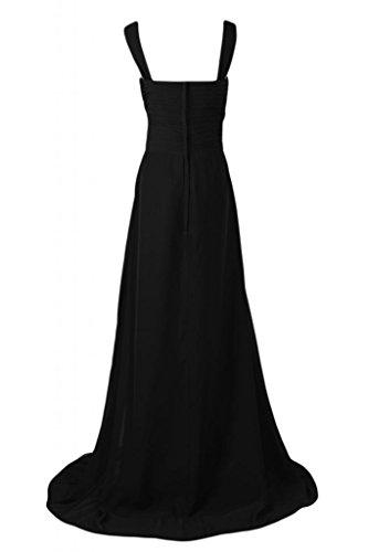 Sunvary Graceful Empire Style-abiti da damigella d'onore Pageant Gowns abito da donna Black