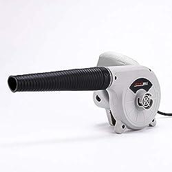 KKmoon Souffleur Électrique Ventilateur à air 600W Nettoyage Ménage avec Sac Recueil pour Auto Véhicules Jardin Ordinateur Maison