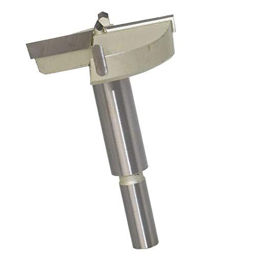 Fenteer Forstnerbohrer Astlochbohrer Scharnierlochbohrer mit Schneiddurchnesser 15-60mm, Gesamtlänge 88 mm - 55 mm