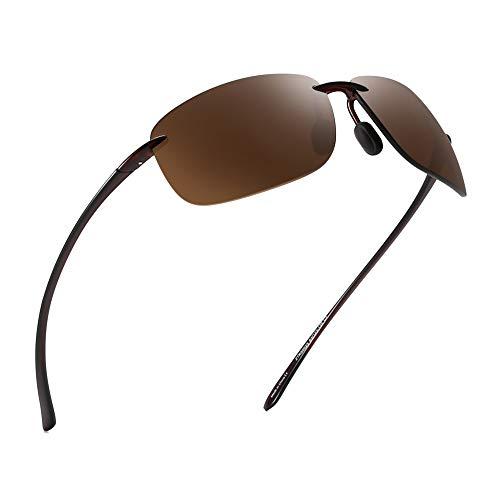 60a31a463c Jim Halo Deporte Gafas de Sol Para Hombre Mujer TR90 Sin Marco Borde Marco  Irrompible Para