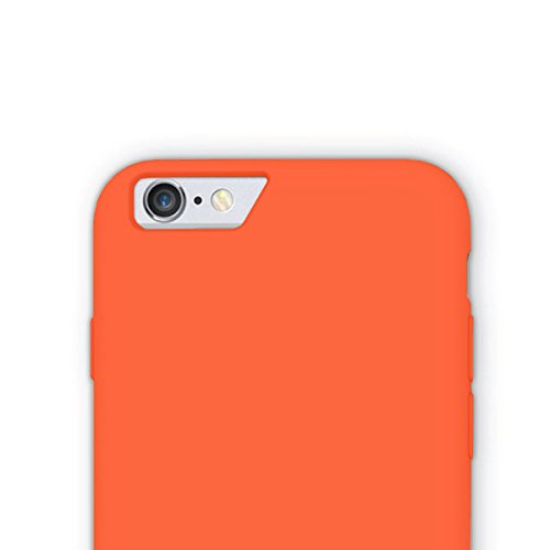 iPhone 6S / 6 Hülle, JKase CANVAS SLIDE Rüstung Case Hülle TPU Innencase für iPhone 6S / iPhone 6 (Schwarz) Orange