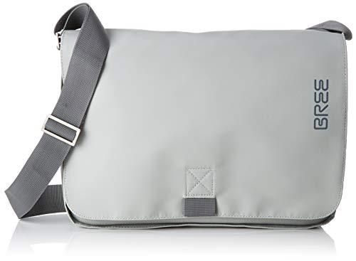 BREE Collection Unisex-Erwachsene Punch 62, Shoul. Bag S19 Schultertasche, Grün (Belgian Block), 8x24x34 cm
