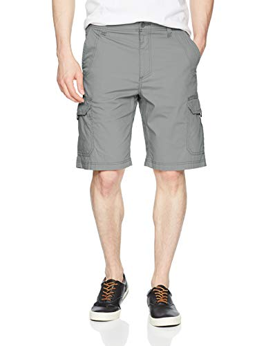 Lee Herren Extreme Motion Crossroad Cargo Short Cargohose, Storm Gray, 50 Co Belted Jeans