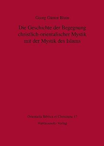 Die Geschichte der Begegnung christlich-orientalischer Mystik mit der Mystik des Islams (Orientalia biblica et christiana, Band 17)