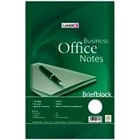 Landre Office 100050251 - Lote de 5 libretas A4, 100 hojas en blanco, 60 g/m²