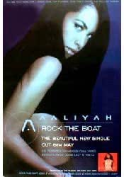 Aaliyah - Rock The Boat (Q) (K) - 100X150 Cm Affiche / Poster