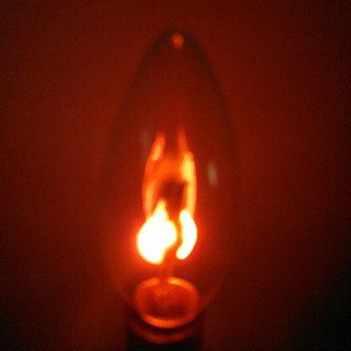 ZLL 10 piezas Light E14 1.5W 2 SMD 150 LM Rojo Cosecha Bombillas de Filamento LED AC 100-240 V , red