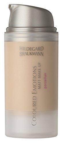 Hildegard Braukmann Colour Emotions Matt Make-Up Porzellan, 1er Pack (1 x 30 ml)