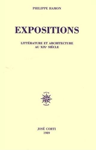 Expositions : Littérature et architecture au XIXe siècle
