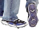 Semptec Urban Survival Technology Catene da Neve per Scarpe: 1Paio di Scarpe Catene per Tutte Le Scarpe, Scarpe Taglia 35-43(Scarpe Catene)