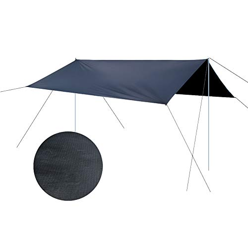 Ohyoulive Awning - Waterproof Sun Shade Sunscreen Tent Tarp for Outdoor Camping Picnic Canopy Garden Patio Pool Patio Sail Shelter Team Storm Shelter