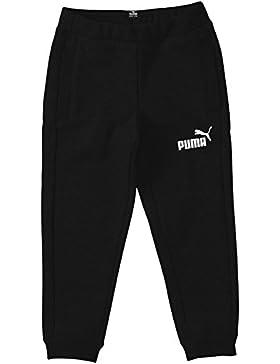 PUMA Jungen Hose Ess Large Logo Sweat Pants, Closed, Fleece, B, 831933 05
