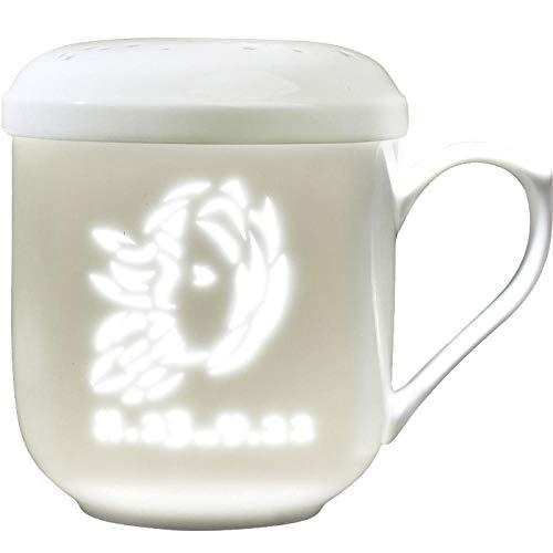 Powzz ornament Skulpturen Statuen Dekoartikel Jingdezhen Keramik Teetasse Mit Deckel Mit Filter Teetasse Teetrennung Teetasse Jungfrau -