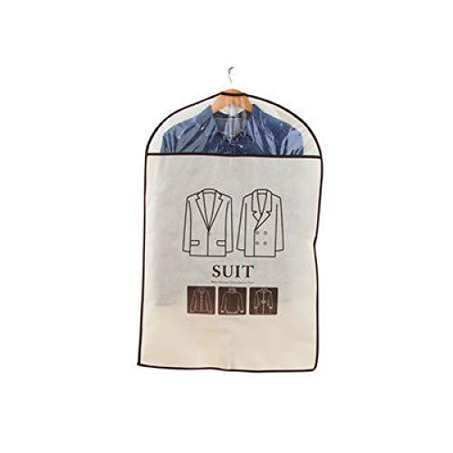Grea coat sacchetto di immagazzinaggio sacchetto di polvere non tessuta vestiti set vestiti copertura appesa vestiti sacchetto di abbigliamento copertura antipolvere cover-7,60 * 90cm
