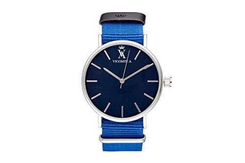 vicomte-a-unisex-watch-vicomte-a-va-020-g14nato-blue-dial-blue-fabric-strap-36mm