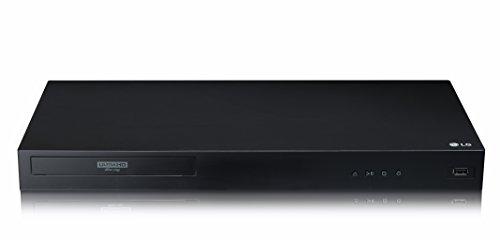 LG Electronics UBK80 4K Ultra HD HDR Blu-ray Player - Black