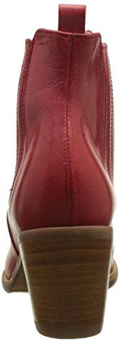 Donna Piu 50200 Candida, Stivali da Cowboy Donna Rouge (Talco Rosso)