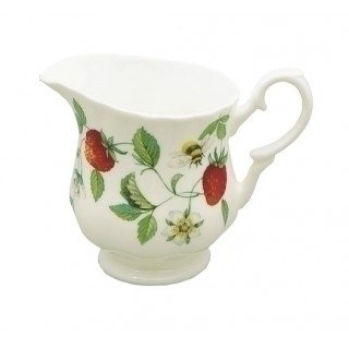 Roy Kirkham Alpine Strawberry Cream jug by Roy Kirkham Roy Kirkham Alpine Strawberry