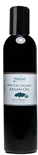 Zakia S Pure, Organic huile d'argan - 8 oz by Zakia S Morocco