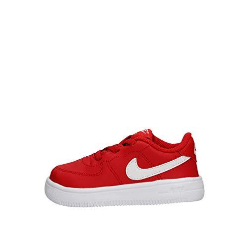 Nike Unisex-Kinder Force 1 '18 (td) Basketballschuhe, Rot (University Red/White 601), 25 EU
