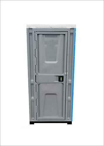 Plastik WC Kabine, Toilettenkabine, Mobile WC, Baustelle WC, Garten WC - GRÜN