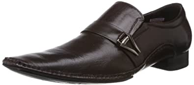 Da Vinchi (by Metro) Men's Brown Leather Formal Shoes - 6 UK (14-8264)