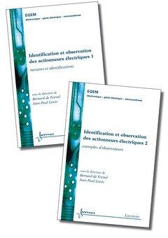 Identification et observation des actionneurs électriques par Frédérique de Fornel