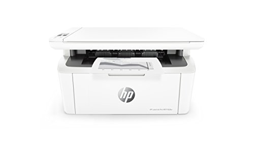 HP LaserJet Pro M28w Multifunktionsgerät Laserdrucker (Schwarzweiß Drucker, Scanner, Kopierer, WLAN, Airprint) weiß (Drucker All In One Wireless Hp)