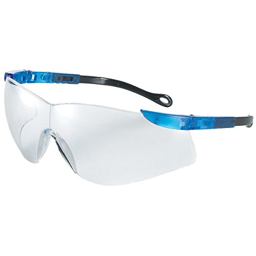 Univet 528.00.01.11 Schutzbrille Nr.528-Antibeschlag mit klarem Glas in blau