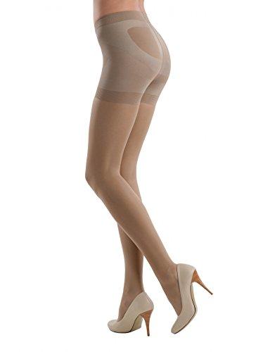 Conte™ X-Press Damen Shapewear formende Strumpfhose in verschiedenen Farben 20 DEN - 40 DEN Textiles Vertrauen nach Öko-Tex Standard 100 XL - in 20 DEN Natural -