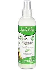 Activilong Actirepair Spray Thermo-Protecteur aux Huiles d'Olive et Avocat Bio 200 ml