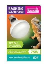 Arcadia Basking Solar Flood Lamps 75 W 3