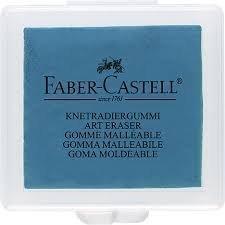 Knetgummi Radierer, Faber Castell (1, blau)