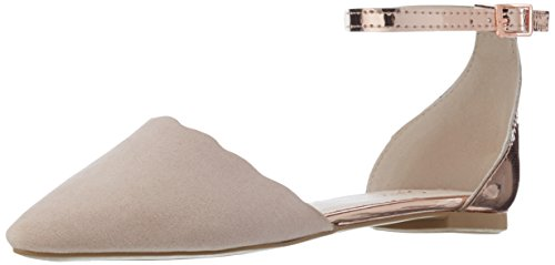 Another Pair of Shoes BlairE1, Damen Knöchelriemchen Ballerinas, Pink (Dusty Pink/Rosegold1994), 40 EU (7 Damen UK)