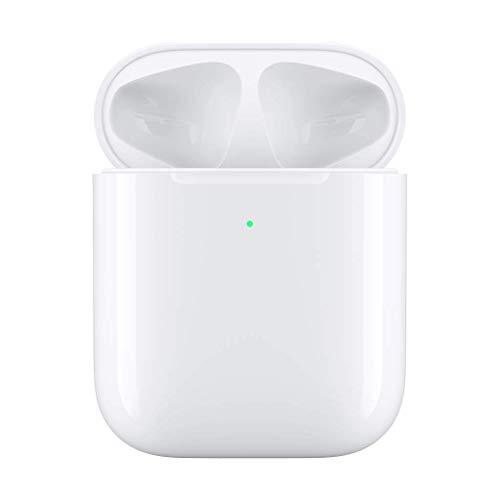 Battery Charging Pod (Mumuj Headphones Fast Wireless Charger, Wireless Charging Case Qi-Certified Ladegerät Fall Dock Cradle für Apple Airpods 1/2 für Air pods Bluetooth Kopfhörer)