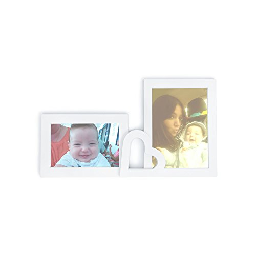 Medium-Sized Dual Picture Frame for 2 Standard Sized Pictures - Home ...