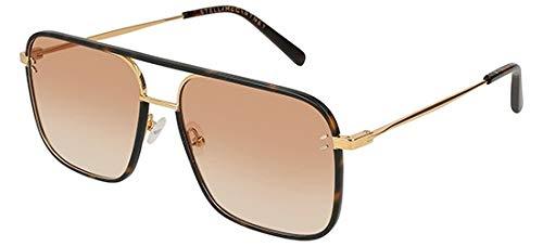 Stella McCartney Sonnenbrillen SC0124S Havana/ORANGE Shaded Damenbrillen