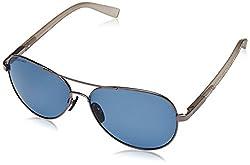 Fastrack Aviator Sunglasses (Gun Metal) (M132BU1P)