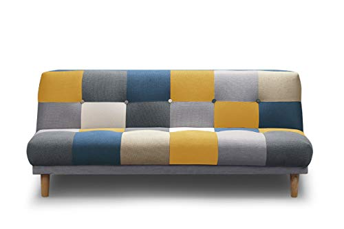 Sofa Cama Piqueras (Multi Amarillo)