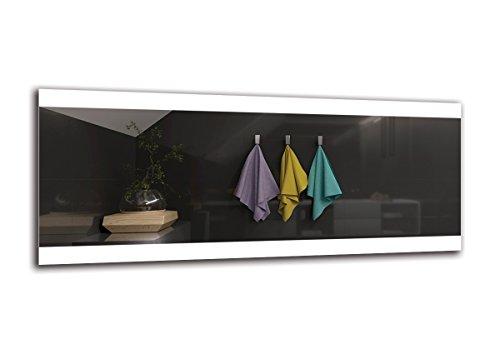 Espejo LED Premium   Dimensiones Espejo 120x50 cm